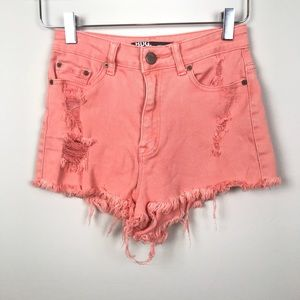 URBAN OUTFITTERS | High Rise Cheeky Short